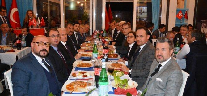 İsviçre Türk Toplumu iftarda buluştu