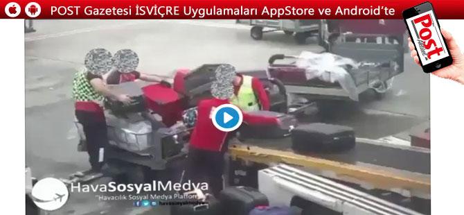 Atatürk Havalimanı'nda çekilen bu görüntüler büyük tepki çekti!