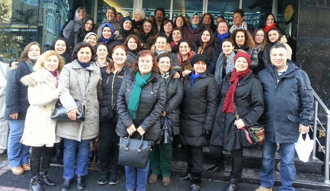 Kadın kollarından İstanbul turu