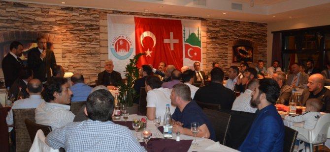 İsviçre Türk Federasyonu'nda coşkulu iftar