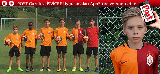 FC Galatasaray milli bir yetenek yetiştirdi