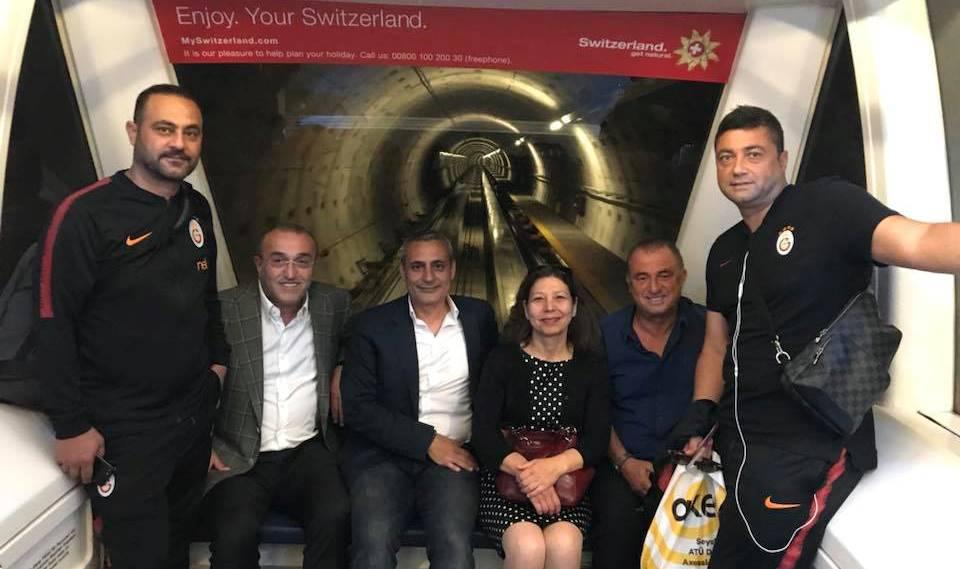 Galatasaray İsviçre'de