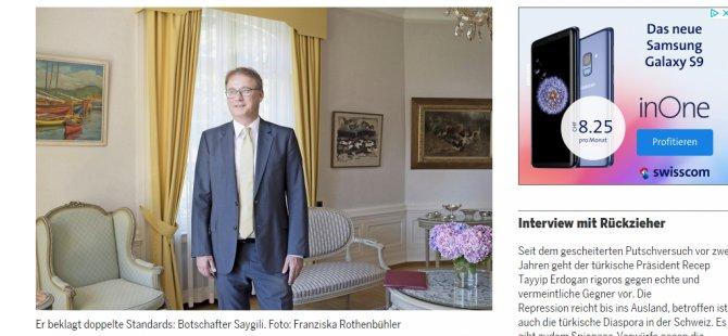 Büyükelçi''Fetö ve PKK yandaşlarına baksınlar''