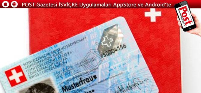 2 bin euroya sahte İsviçre kimliği