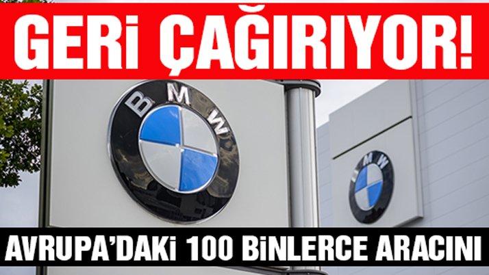 BMW, 324 bin aracını geri çağırıyor