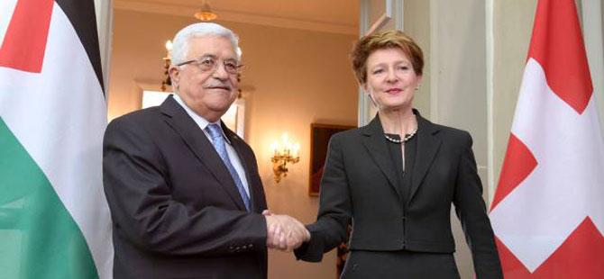İsviçre, Mahmud Abbas'a destek sözü verdi