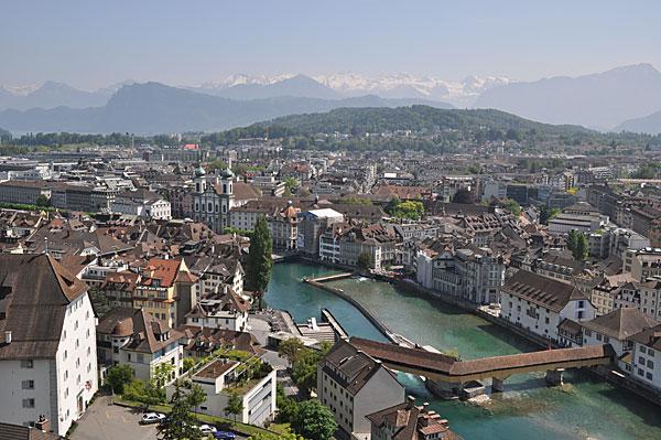 İsviçre'de En mutlu Luzernliler
