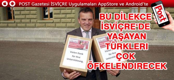 Türkleri öfkelendirecek şok dilekce