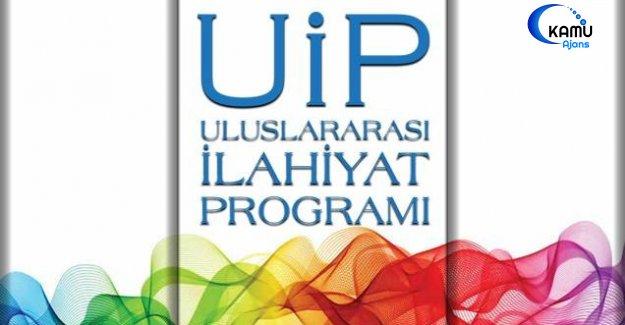 Uluslararası İlahiyat Programı başvuruları başladı…