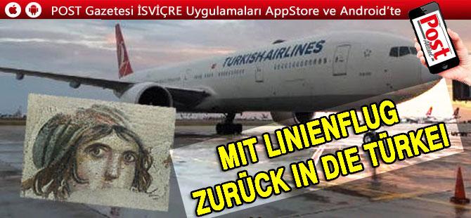 Mit Linienflug zurück in die Türkei