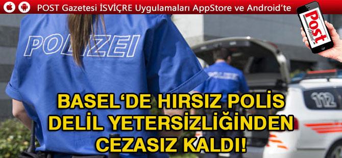 HIRSIZ POLİS'E CEZA YOK