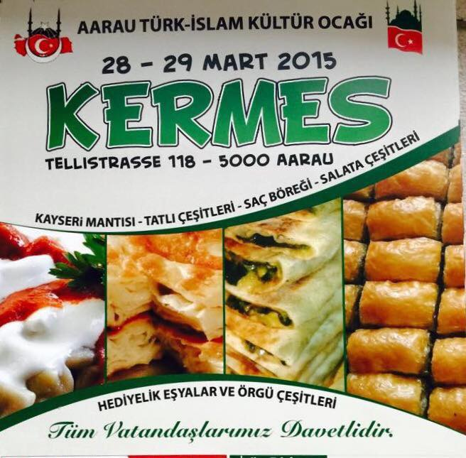 Aarau Türk-İslam Kültür Ocağı Kermes
