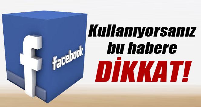 Facebook'taki eski uygulamalara dikkat