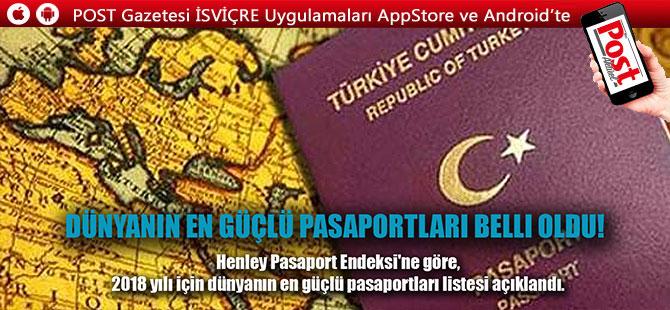En güçlü pasaport hangisi seçildi?