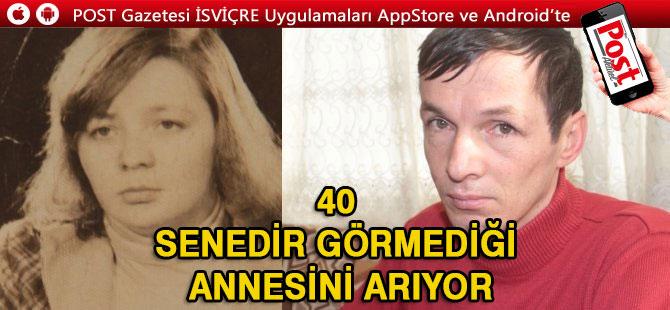 Öz annesinin Alman olduğunu öğrenen Türk, 28 yıldır onu arıyor