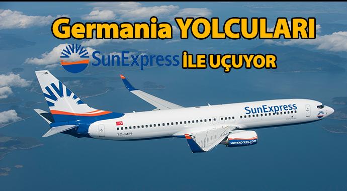 Germania mağdurlarına SunExpress'ten destek