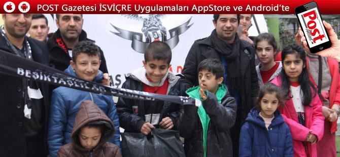 Gurbetçiler Siirt'teki çocukları sevindirdi