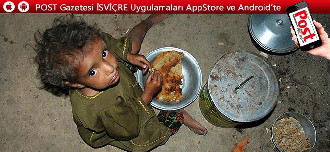 Dünya'da her 5 çocuktan 1 i aşırı yoksul