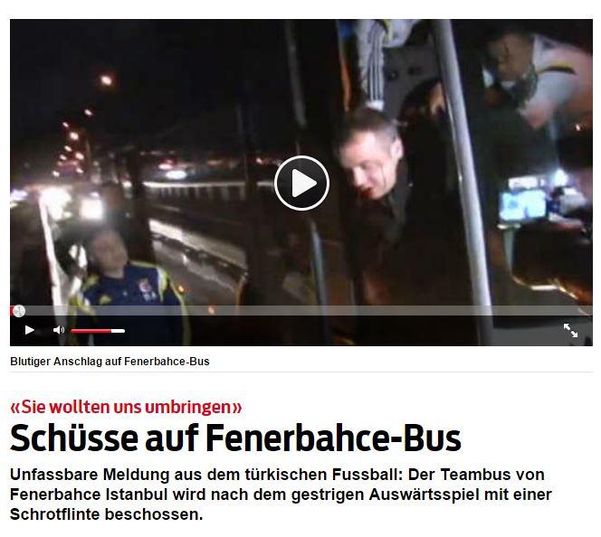 İsviçre medyasında gündem Fenerbahçe