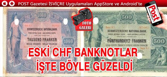 ESKİ BANKNOTLAR İŞTE BÖYLE GÜZELDİ / FOTOGALERİ