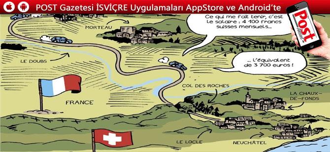 İsviçre'ye her gün 175 000 bin Fransız çalışmaya geliyor