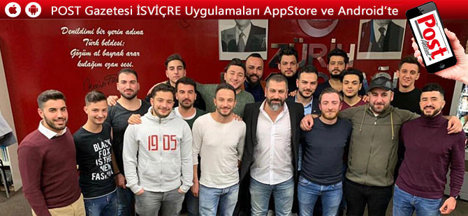 FC Turkuaz Zürich'in başkanlığına  Oğuzhan Ahmet seçildi