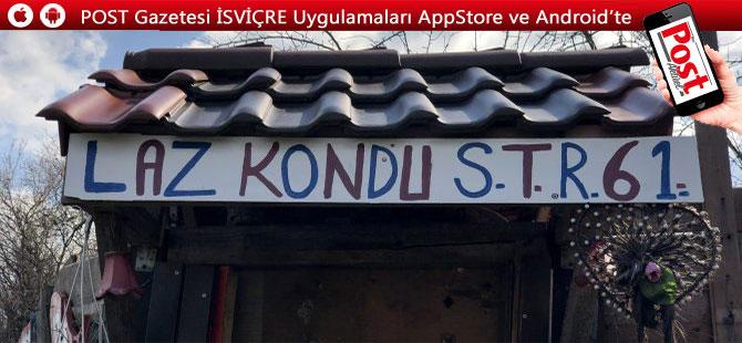 Trabzonspor sevdası gurbetçiye Lazkondu'yu yaptırdı