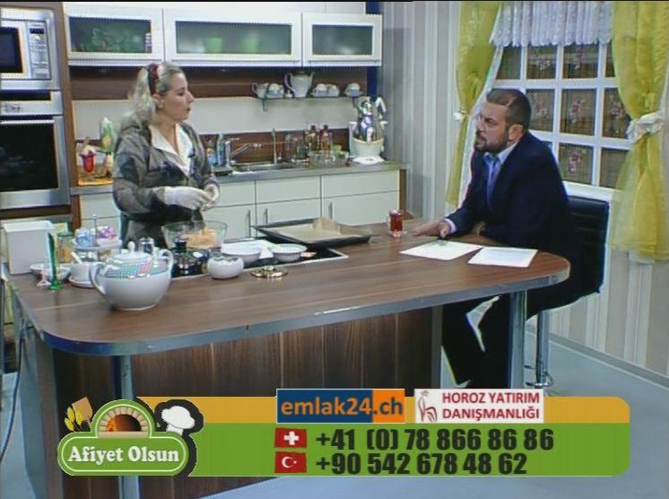 Afiyet Olsun/ Murat Haydar Emlak24.ch/ TGRT EU