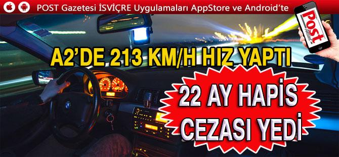 Bosna'lı Hızlı sürücü  Hapis yatacak