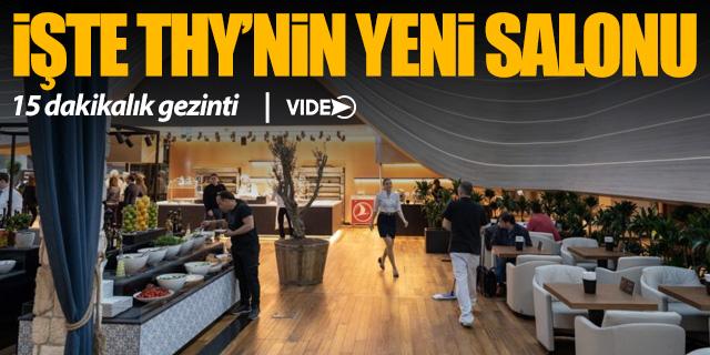 İşte THY'nin İstanbul Havalimanı'ndaki 'Business Lounge'ı
