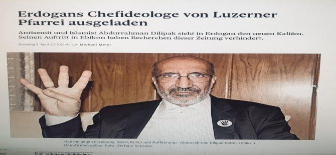 İsviçre`de bir program daha iptal