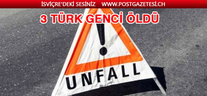 Almanya'da feci kaza: 3 Türk genci hayatını kaybetti