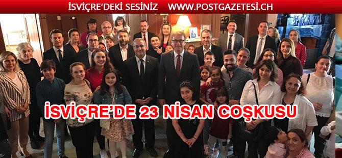 İSVİÇRE'DE 23 NİSAN COŞKUSU