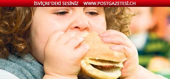 İsviçre'de her 6 çocuktan biri OBEZ