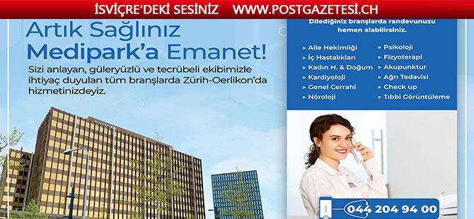 Zürih'te TÜRK Kliniği (MEDİPARK) açıldı