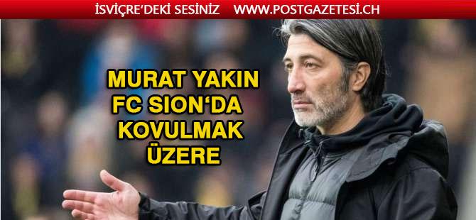 FC Sion'da Murat Yakın gerginliği
