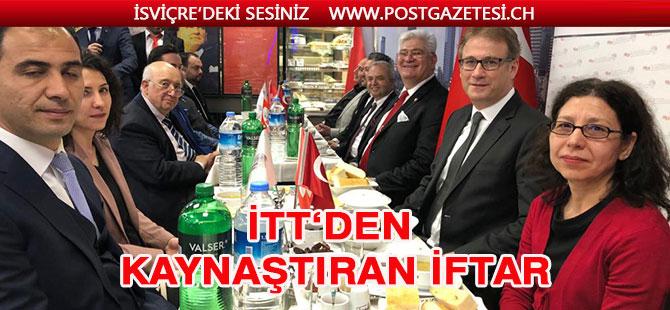 İTT Isviçre Türk Toplumu'ndan kaynaştıran iftar