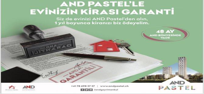 İstanbul'daki eviniz AND Pastel'de