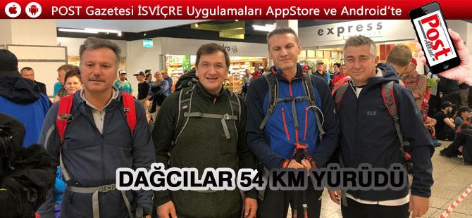 Türk Dağcılar Rigi yürüyüşünü başarıyla tamamladı