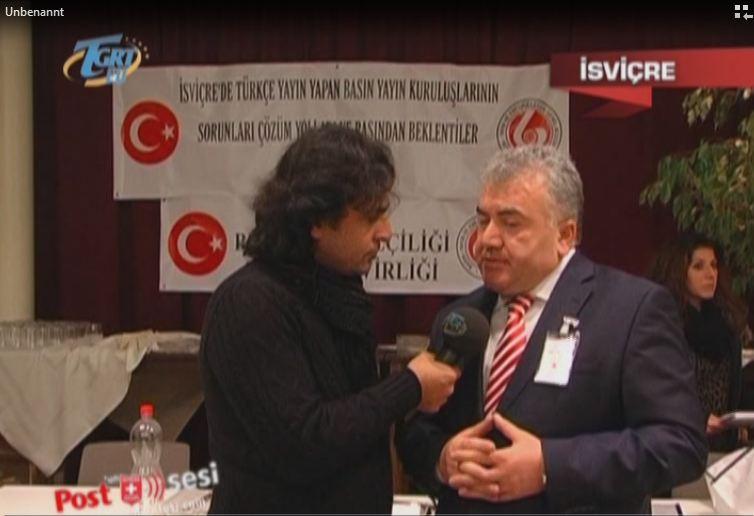 İsviçre'de görev yapan Türk gazeteciler Zürih'te buluştu