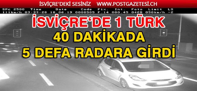 40 Dakikada 5 defa Radara giren Türk'ü ağır ceza bekliyor