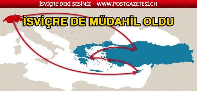 """İsviçre Dışişleri Bakanından """"Doğu Akdeniz'de ihlal"""" iddiası"""