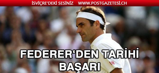 Roger Federer tarihe geçti