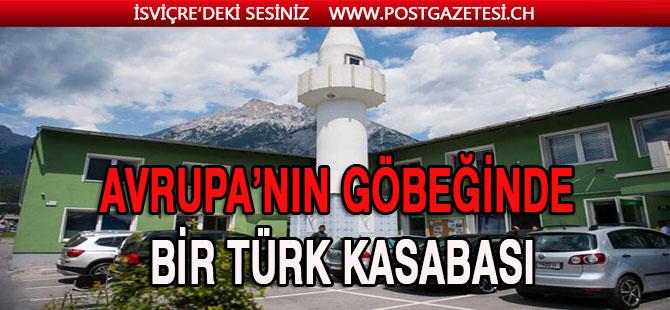 Avrupa'nın göbeğinde bir Türk kasabası