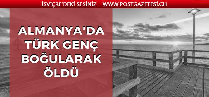 Türk genç boğuldu
