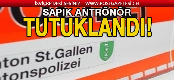 İsviçre, WİL'de (SG) jimnastik antrenörü tutuklandı