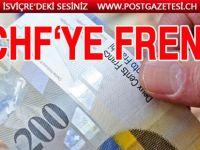 İsviçre Frangı'na Merkez Bankası  freni