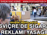 İsviçre'de Sigara reklamlarına yasak geliyor