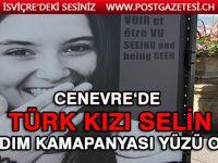 Türk kızı SELİN AKAY, yardım kampanyasının yüzü oldu