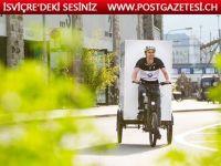 İsviçre'de üç tekerlekli taşıma araçları